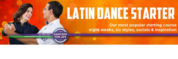 Latin Dance Starter Email Footer