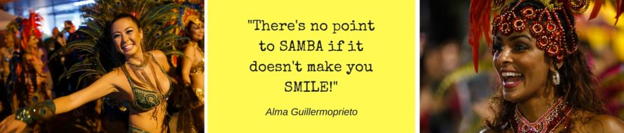 -There's no pointto SAMBA if itdoesn't make youSMILE!-