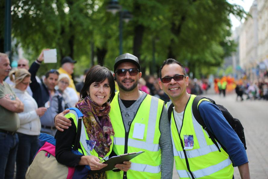 Helsinki Samba Carnaval judges