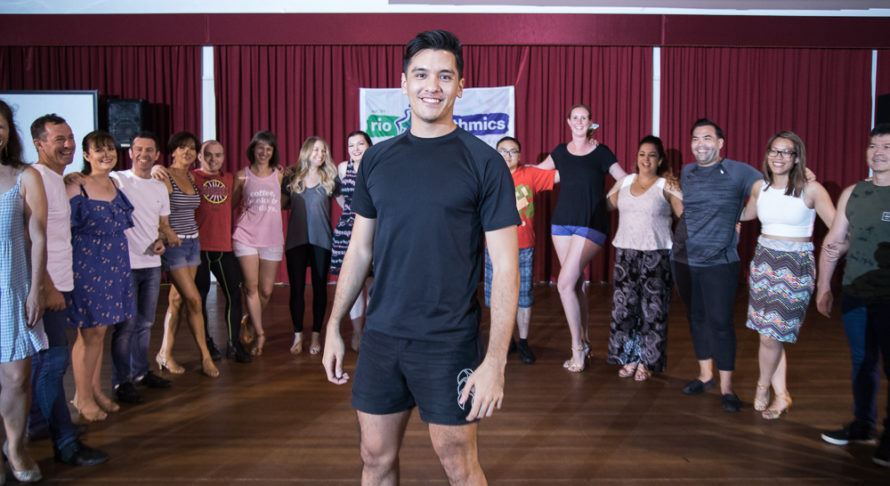Rio Rythmics Andrew's dance story