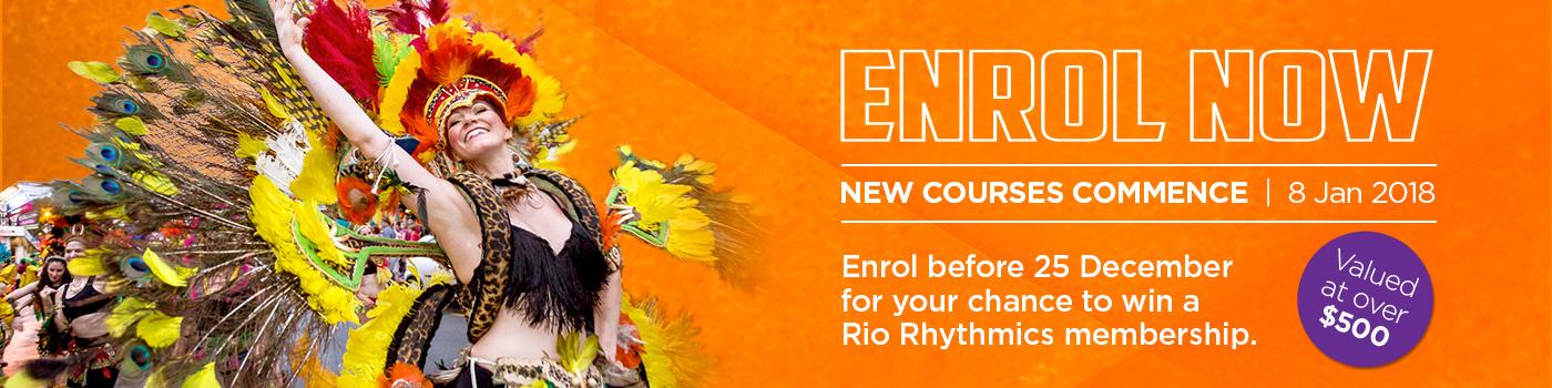 Term 1 2018 latin dance enrolments