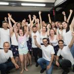 Happy group at WM17
