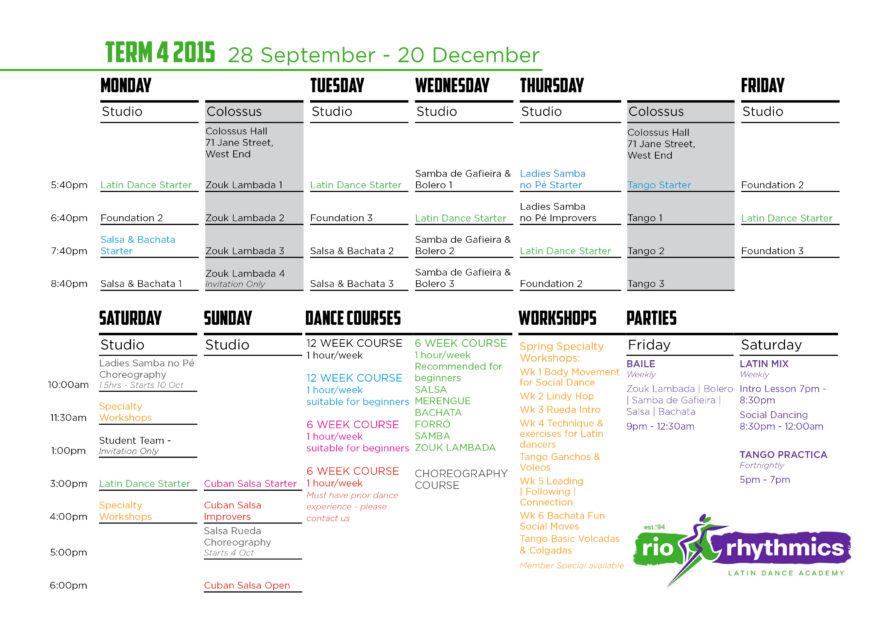 Term 4 A4 timetable PRINT
