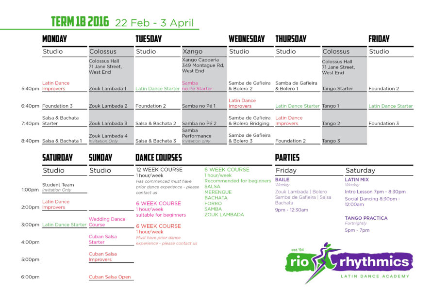 Term 1b A4 timetable PRINT