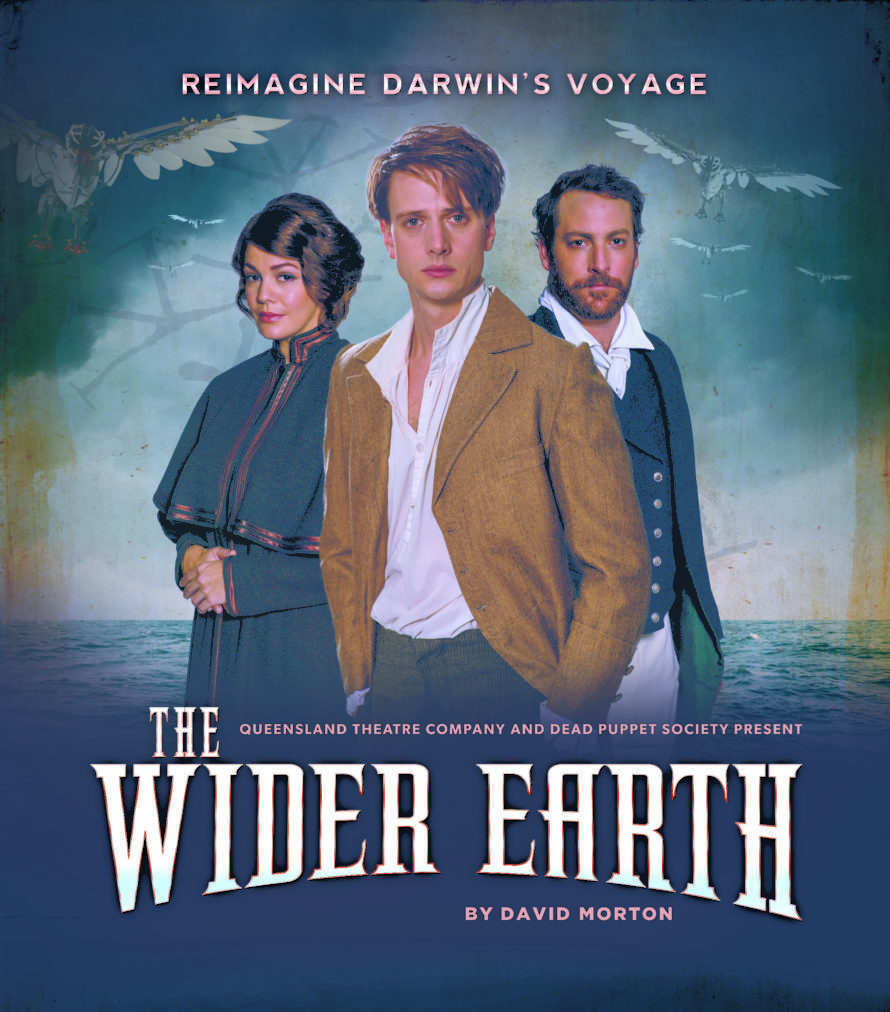 THE WIDER EARTH -NEW